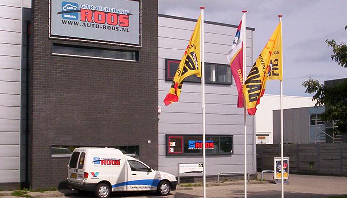 Auto Garage Almere : Gevelbelettering garage roos almere u belettering almere
