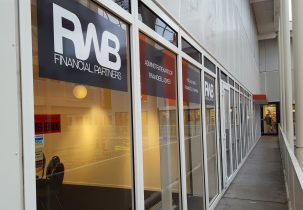 buitenkant RWB financial partners stickers gevelbelettering